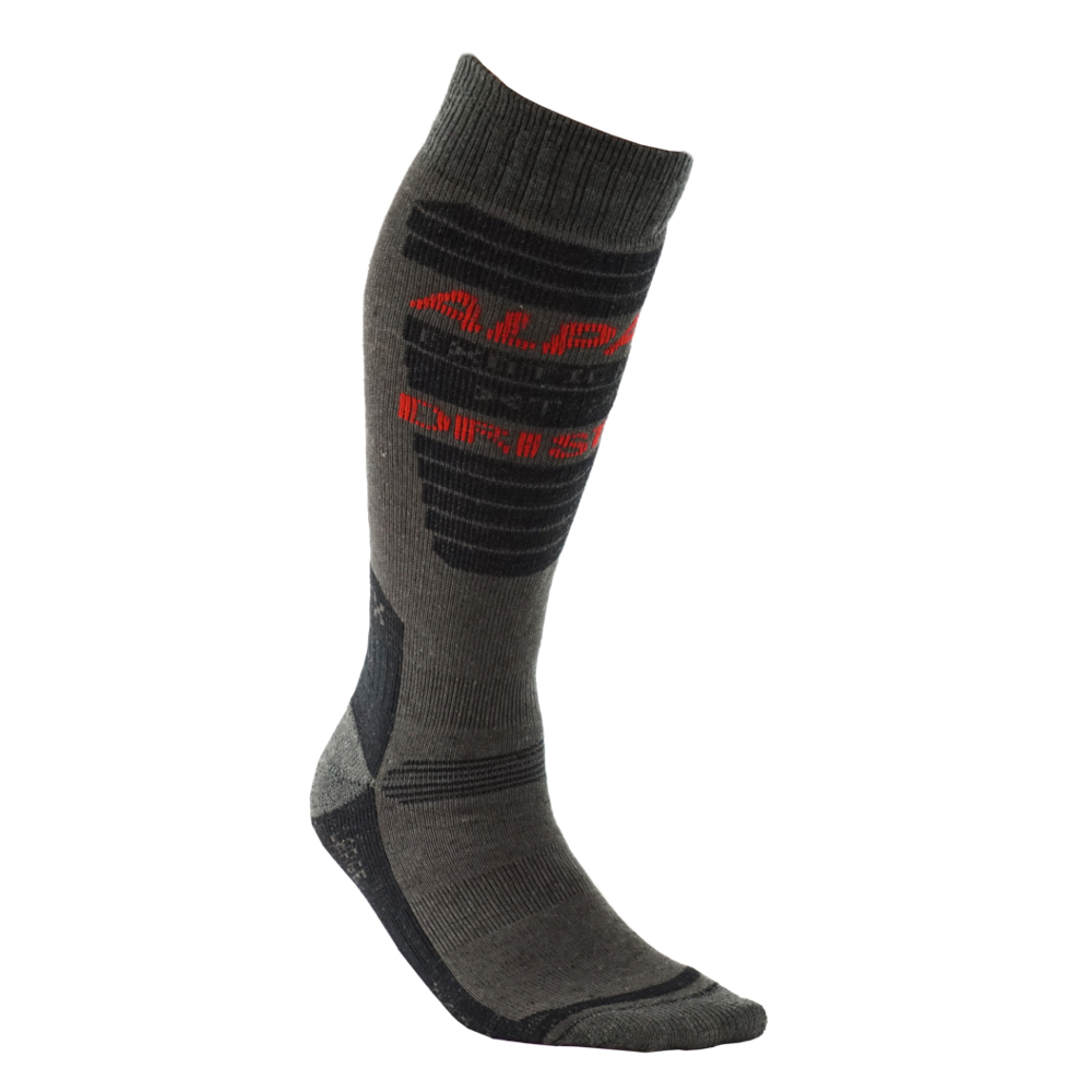Exotic_Fibers_Of_Canada_Alpaca_Sock_Cold_Assassin - Charcoal - 1
