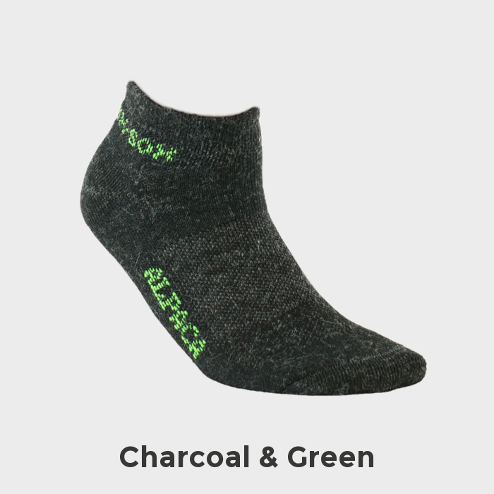Exotic_Fibers_of_Canada_Alpaca_Sock_Sport_Ankle_Socks_Charcoal_Green_Feature